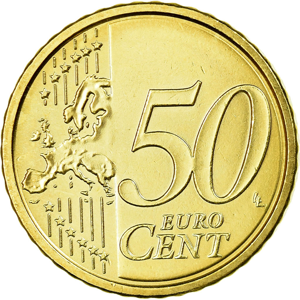 Vatican City 50 euro cents 2012